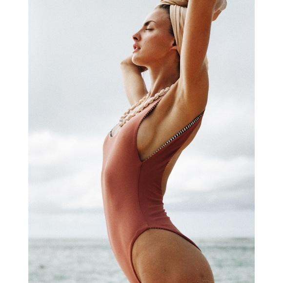 f62383f102076 Rove Swimwear Swim | Nwt Rove Ryan One Piece Small | Poshmark